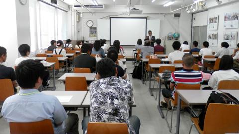 近畿測量専門学校の学校説明会