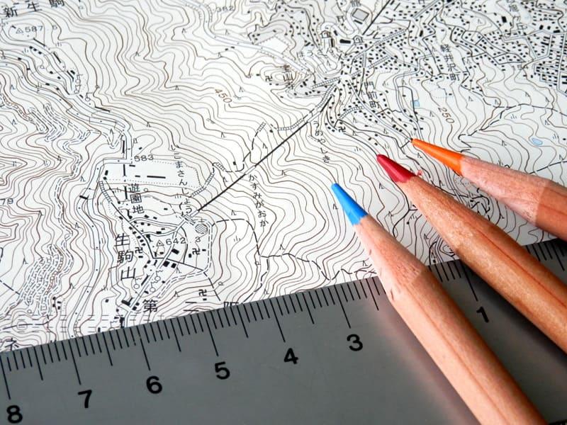 体験入学「地形図を読んで、土地を知る」
