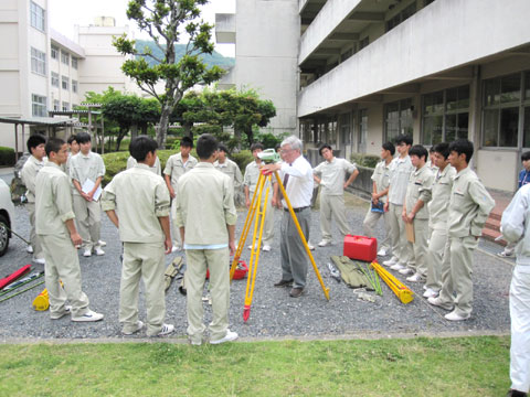 兵庫県立上郡高校 出張講習会