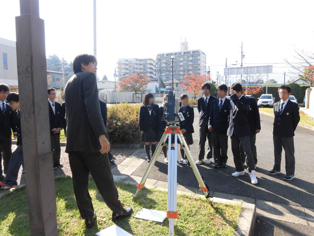 奈良県立青翔高校 出張講習会